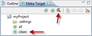 Execute a Make Target