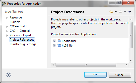 Project References in Eclipse