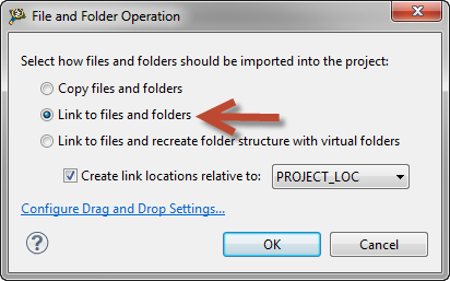 Drag & drop files into dummy project to compare external files