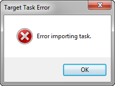 Target Task Error