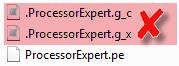 Processor Expert Project Files