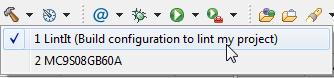 Build my lint configuration