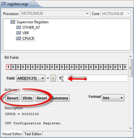 Editing Registers