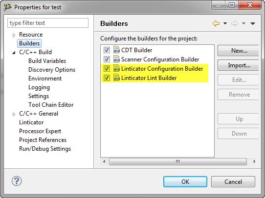 Linticator Builder