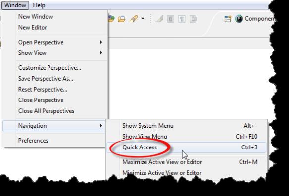 Quick Access Menu