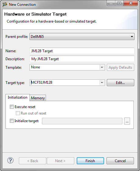 New Target with Initialization Part