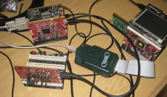 Which board I'm debugging?
