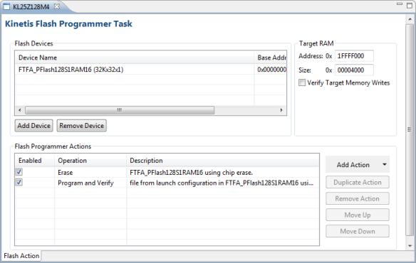 Flash Programmer Task