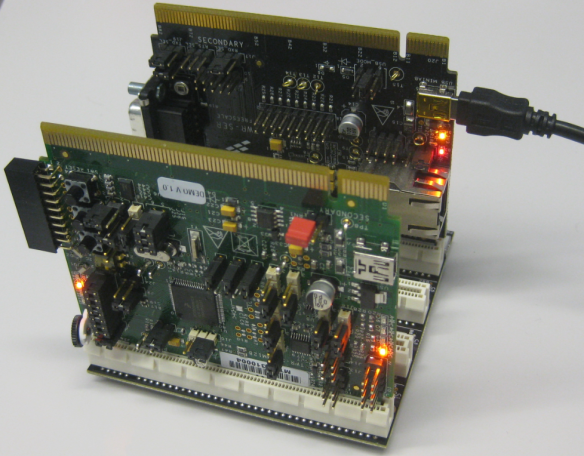 TWR-S08MM128 board with USB CDC