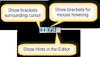 Bracketeer Toolbar