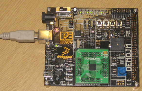 DemoJM Board with S08JM16