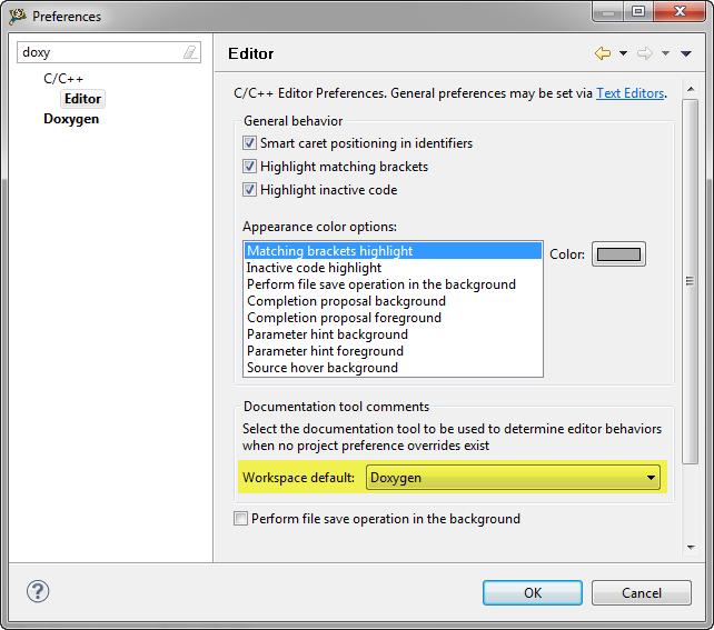 5 best eclipse plugins 1 eclox with doxygen graphviz and mscgen doxygen workspace default ccuart Choice Image