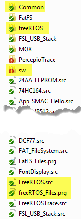 Drivers Folder Content