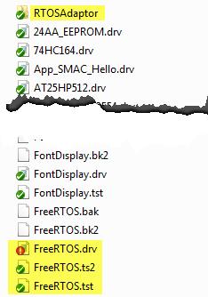 Drivers sw Folder