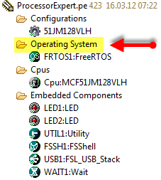 FreeRTOS in the Operating System Group
