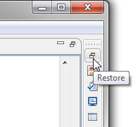 Restore Views Button