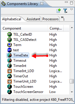 TimeDate in the Components Library