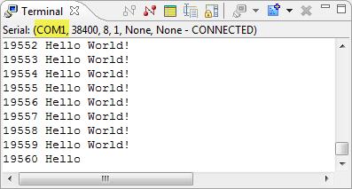 Virtual COM/USB CDC for OSBDM/OSJTAG | MCU on Eclipse