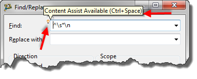 Removing Blank Lines in Eclipse - DZone Java