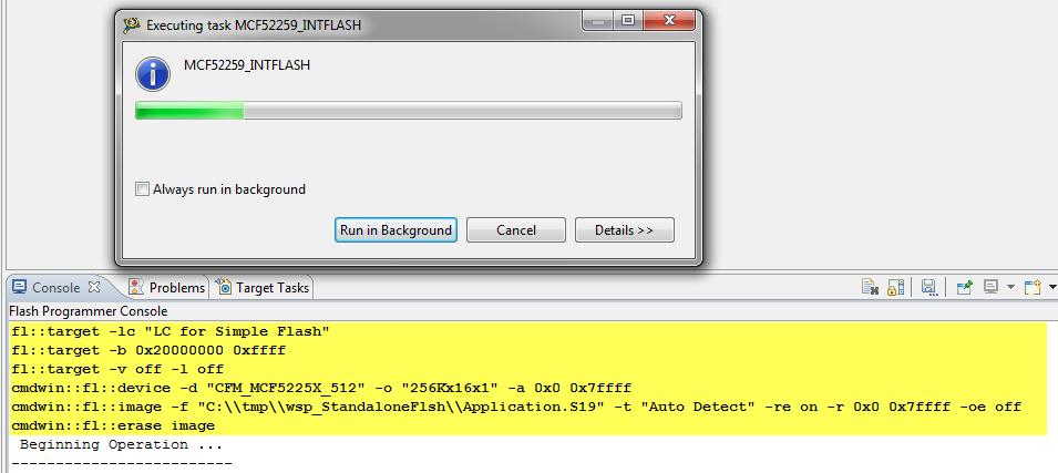 Standalone Flash Programmer   MCU on Eclipse