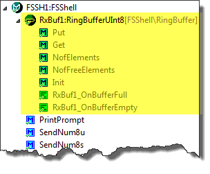 FSShell with Ringbuffer