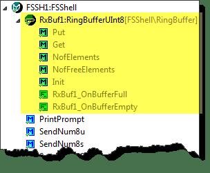 FSShell with Ringbuffer