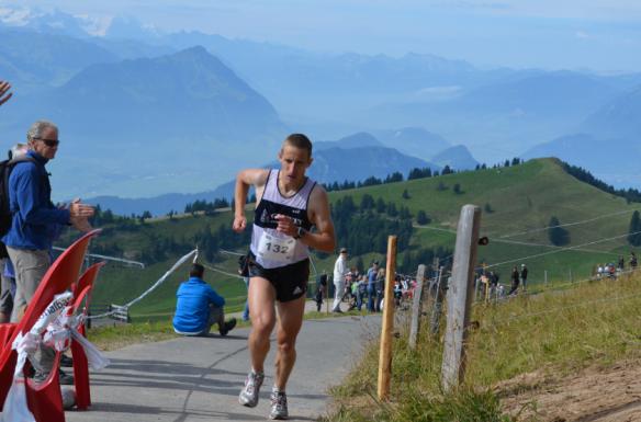Markus Jenne, Winner of the 29. Rigi Berglauf