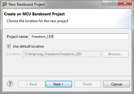 Naming the project