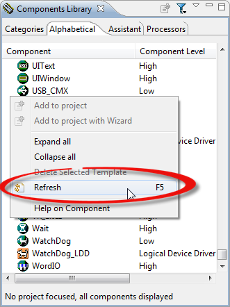 Refresh Components