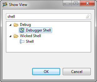 Show View Debugger Shell