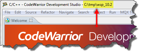 Workspace Location in Frame Title