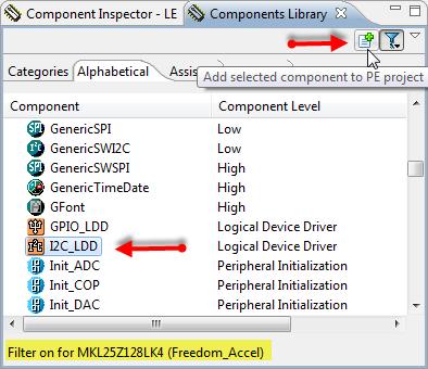 Adding I2C_LDD