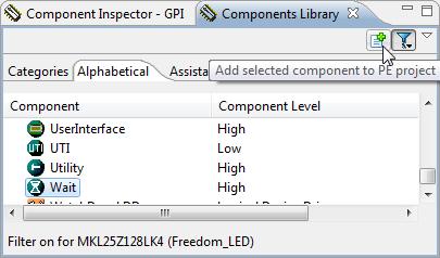 Adding Wait Component