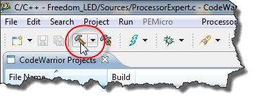 Building Project with Hammer Icon
