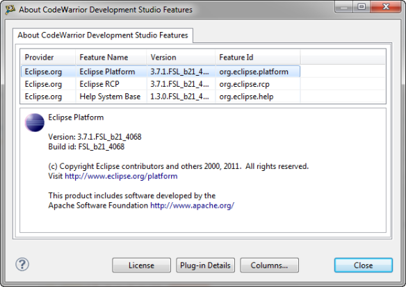 Eclipse 3.7
