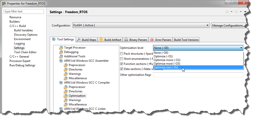 Tutorial Freedom With Freertos And Kinetis L Mcu On Eclipse