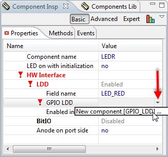 New component GPIO_LDD
