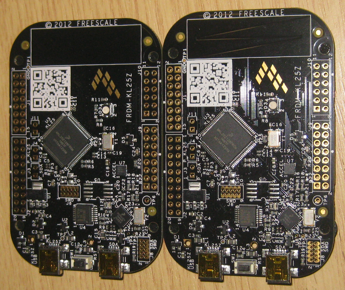 Using The 8 Mhz Crystal On Frdm Kl25z Freedom Board Mcu Eclipse Of Test Boards Used To Createthe Crystaloscillator Circuit Can You Spot Difference