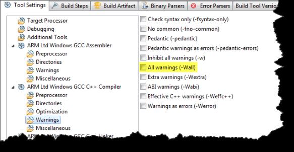 Compiler Warnings