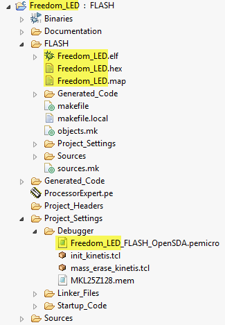 Files with Project Name Dependency