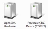 USB CDC Device on COM22