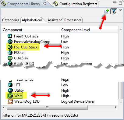 Selecting and Adding Components