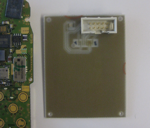 Connector PCB Back Side