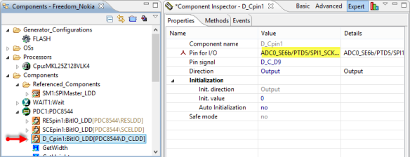 D_C Pin Configuration
