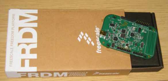 FRDM-KL05Z Board and Box