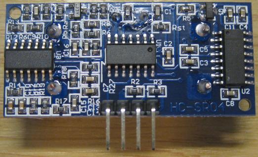 HC-SR04 Back Side