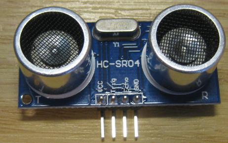 HC-SR04 Front Side