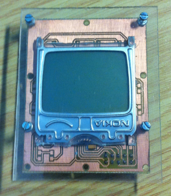 LCD with Plexiglass Cover