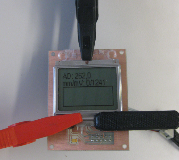 Pressing Display on Connector PCB