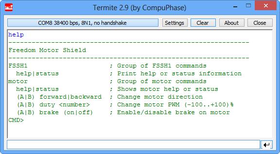 Shell Interface
